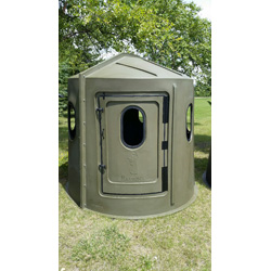 Windows For Hunting Blinds Part - 48: Maverick 6-Shooter Deer Hunting Blind In Green With Choice Of Windows