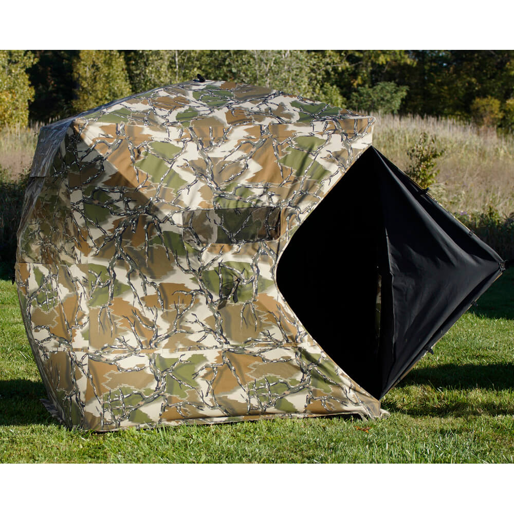 use up and hunting ground blinds watch setup pop s altan