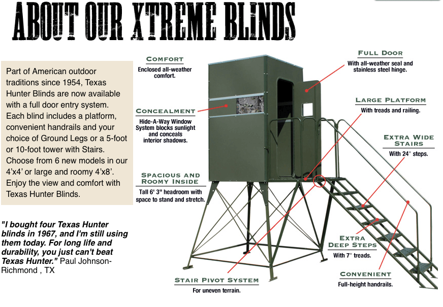 fddb5 xtreme deer stand double 4 x 8 with full door deer stand