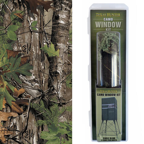 Cwk4 Camo Window Film Kit For Texas Hunter Single 4x4