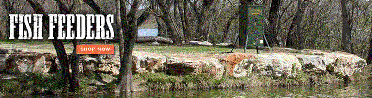 Directional Fish Feeder by Texas Hunter Products