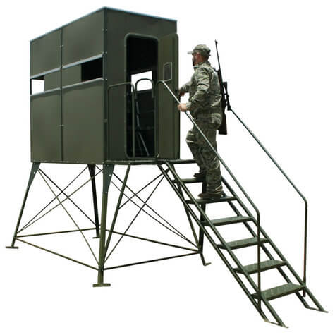 Fddb5 Xtreme Deer Stand Double 4 X 8 With Full Door