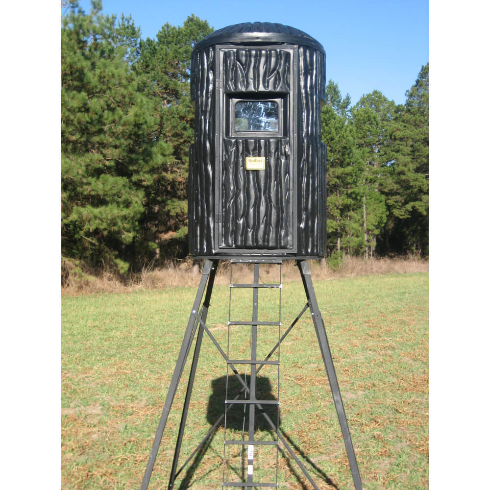 hunt s hunting blinds experience worldaugie natural the elevated world and blind adventures deer