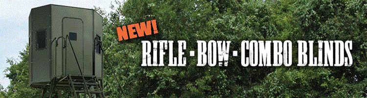New Octagon Shaped Rifle, Bow or Combination Blinds by Texas Hunter Products