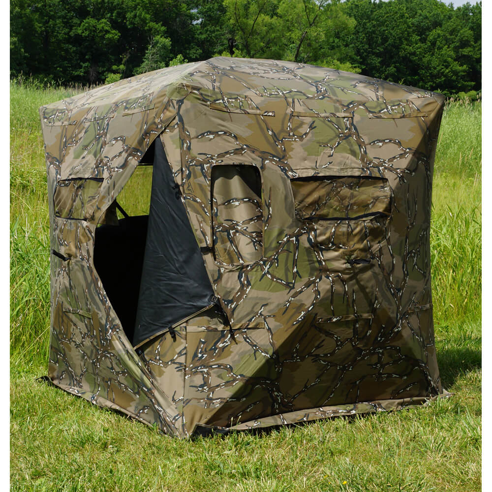 deer blind wikiwand pop en hunting up blinds